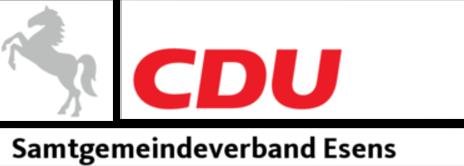 CDU Samtgemeindeverband Esens