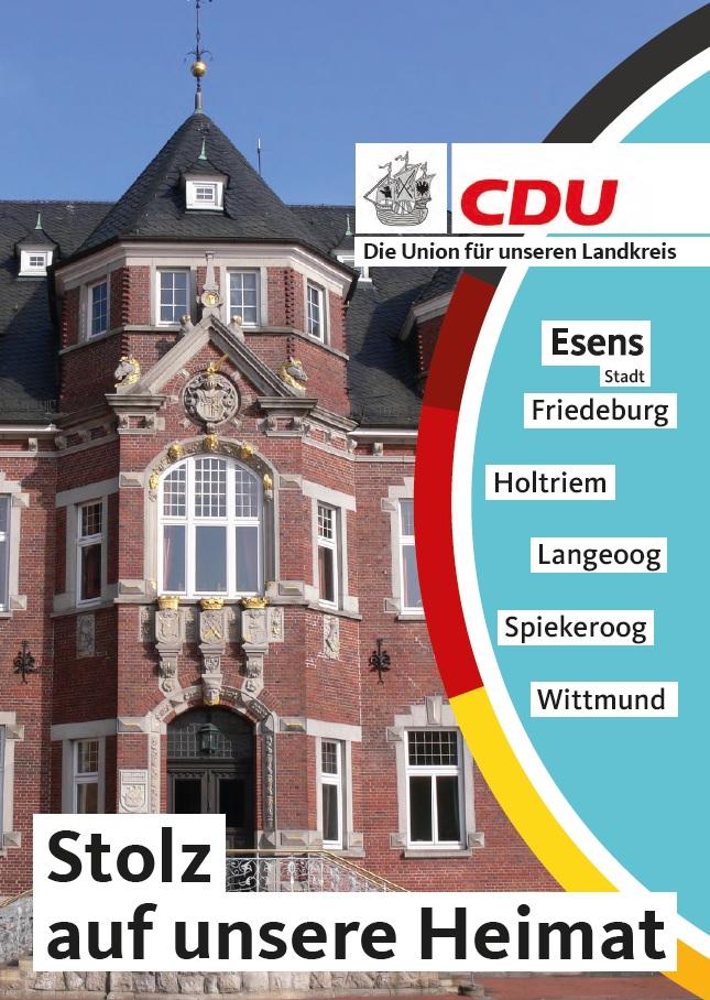 Wahlzeitungen Esens Stadt/Land